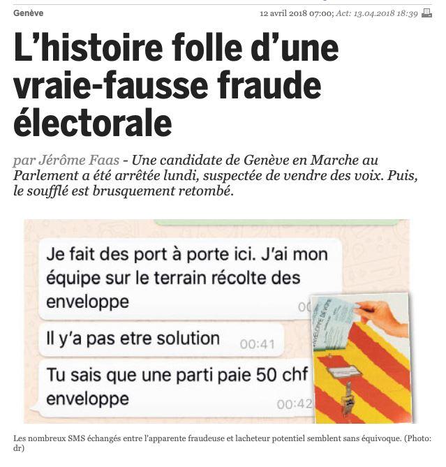 Fraudes démocratiques !